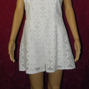 Xhilaration Pants - NWOT Lace Romper with Back Ties